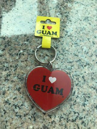 Guam 心形鑽匙扣 #MTRtm