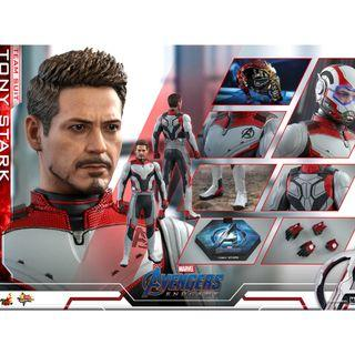 PO: Hot Toys – MMS537 - Avengers: Endgame - 1/6th scale Tony Stark (Team Suit) Collectible Figure