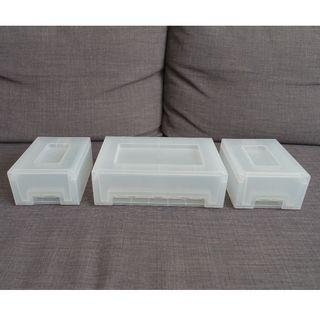 IKEA pull out storage drawers