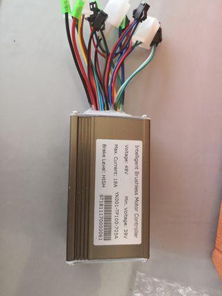 Intelligent brushless motor controller 48v