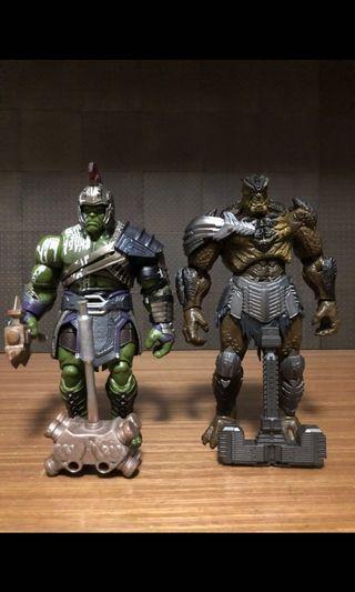 Marvel legends hulk cull baf completed