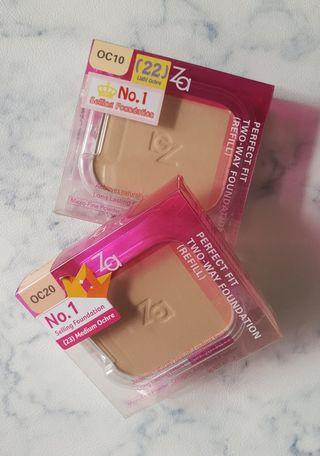 🚚 ZA Perfect Fit Two-Way Foundation Refill (OC10/20)
