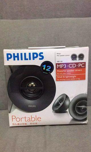 全新Philips可攜式喇叭SBP1100