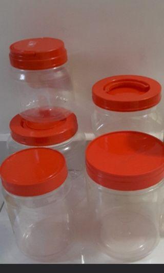 Plastic Container 4 @ $1