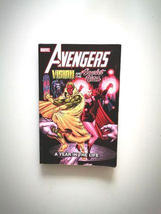 Marvel Avengers Vision and Scarlett Witch Classic