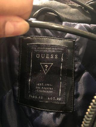 Guess Men's Leather Jacket