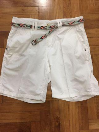 🚚 Esprit White Bermudas - Price Reduced!