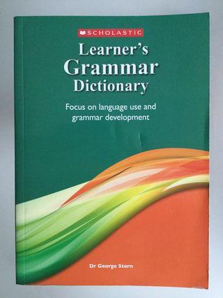 Scholastic Learner's Grammar Dictionary by Dr. George Stern