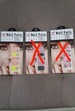 Nail Foils/Stickers(BNIP)