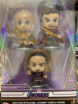 Marvel Cosbaby Dr Strange Set 奇異博士