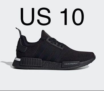 Adidas NMD R1 Japan Triple Black US10