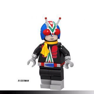 Kamen Masked Rider Riderman Custom Bricks Not Lego