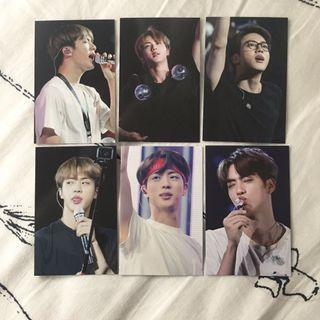 [WTS] BTS Jin Fansite Photocards