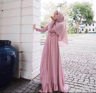 Zuzas Dotes Hannah Dress / Jubah Brown XS