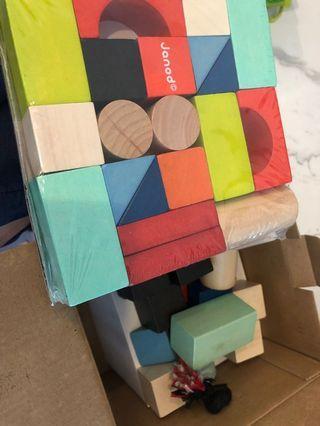 🚚 Janod wooden blocks