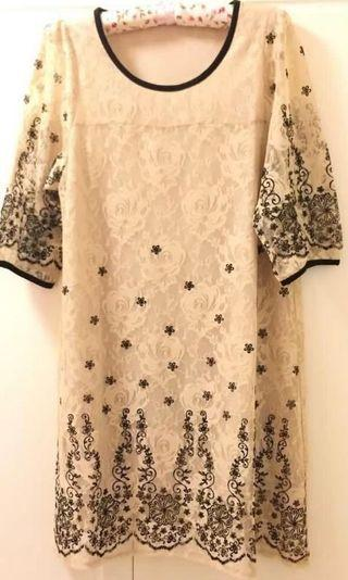 Japan Lace Dress ( Wore Once )