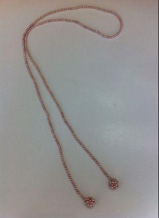 天然淡水珍珠長頸鏈