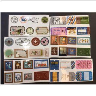 復古貼紙 旅行貼紙