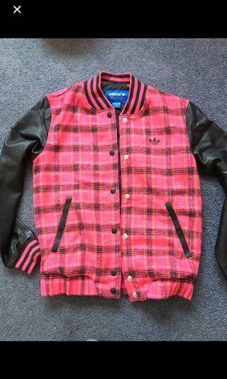 Adidas wool jacket