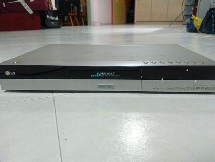 LG DVD Player with Hard Drive RH1777S