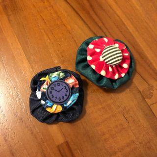 Mod Fabric Brooches
