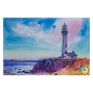 Painting - Pigeon Point Lighthouse