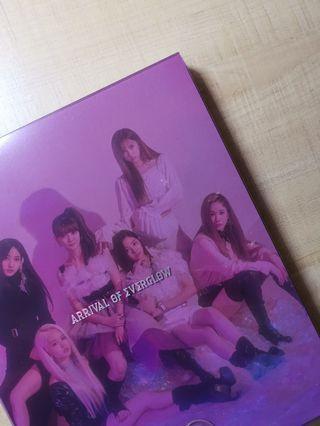 arrival of everglow album