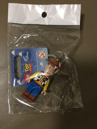 LEGO Toystory Woody keychain