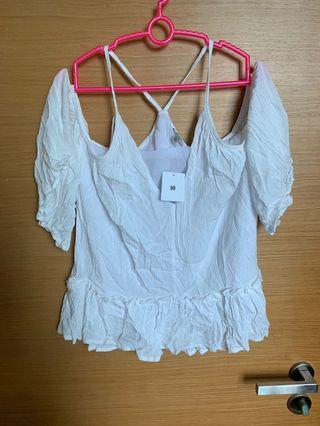 Brand New With Tag Off Shoulder Urban Outfitters Top