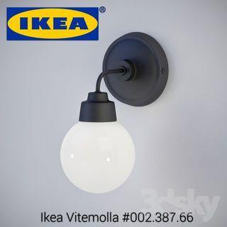 IKEA  Vitemolla wall lamp 002.387.66 (VITEMOLLA)