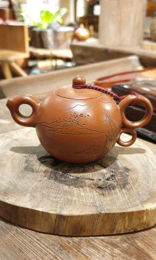 🚚 紫砂壺(惜福)  13x8x7cm