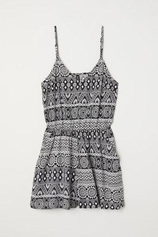 【H&M】專櫃正品甜美風細肩帶洋裝/連身褲~5