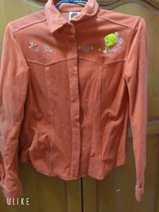 🚚 橘色外套