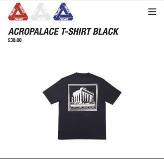 🚚 Palace T-shirt Acropalace DS Size S