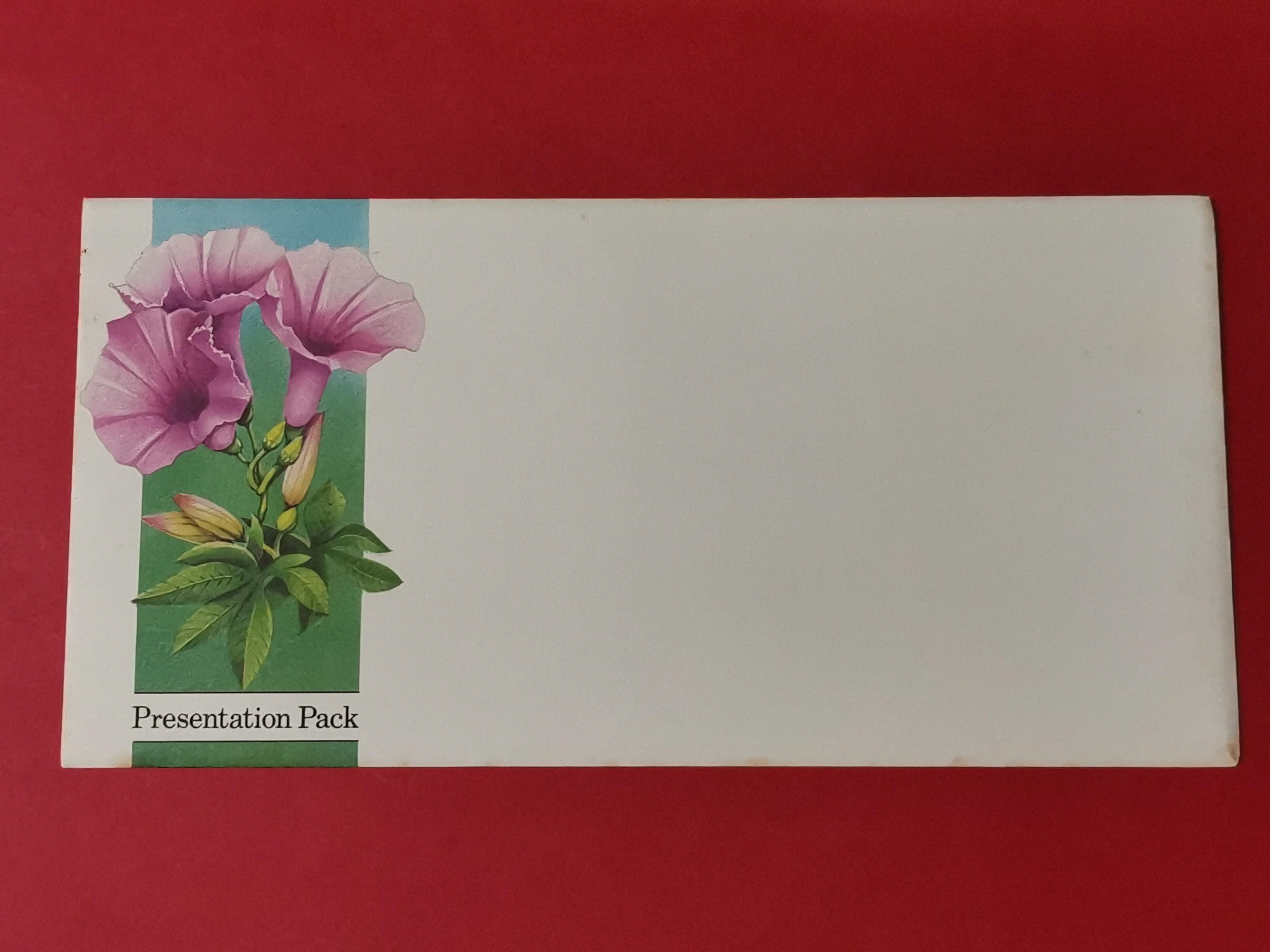 1991 Philanippon S'pore Flora Pack