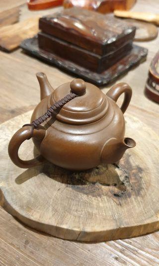 🚚 雙口紫砂壺(特殊造型)  12x13x7.5cm