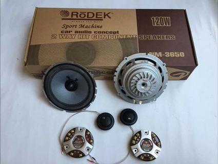 "🚚 Rodek NM-3650 6"" Component Car Speakers"