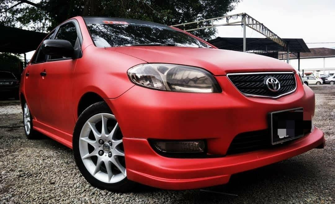 2004 Toyota VIOS 1.5 (A) dp 2990 B/list boleh LOAN KEDAI KERETA.