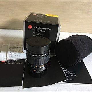 Leica M 90mm F2.5 6-bit made in Germany
