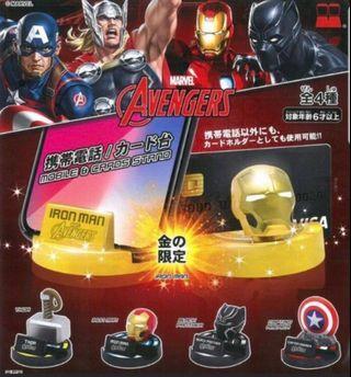 Marvel 扭蛋 手機座