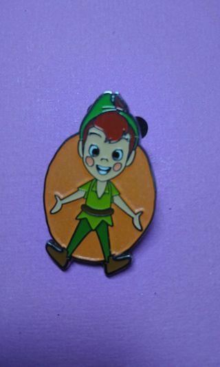香港迪士尼樂園Hong kong Disney Pin,最新mystery Box徽章襟章Peterpan