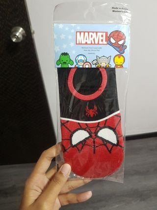 spider-man ankle socks