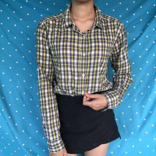 Mix colour flanel top