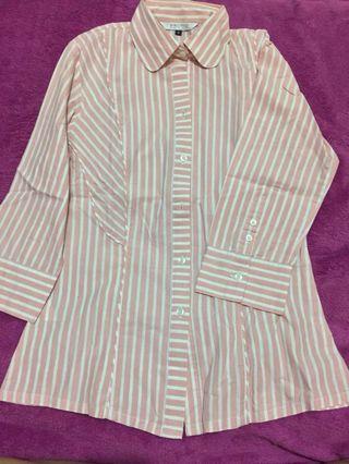 Stripes Shirt (kemeja garis-garis)