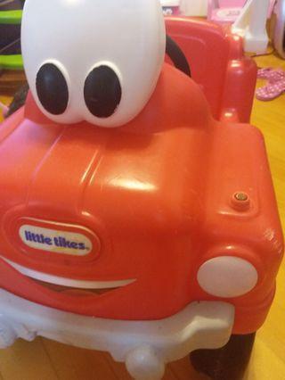 Little tikes 消防車,新舊如圖
