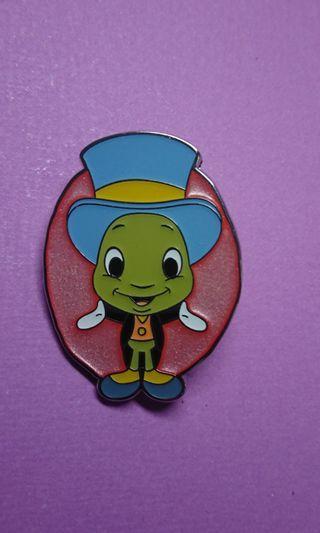 香港迪士尼樂園Hong kong Disney Pin,最新mystery Box徽章襟章 Jiminy
