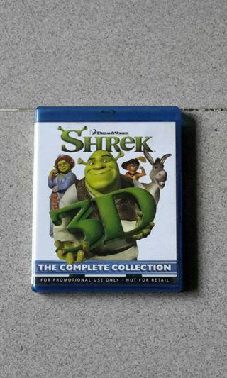 Bluray Shrek Complete Collection 1-4.