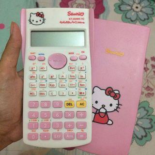 #BAPAU kalkulator hellokitty