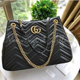 Gucci GG Marmont Shoulder Tote Bag