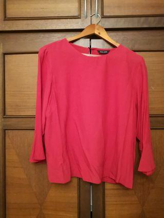 NEW LOOK trumpet sleeves blouse